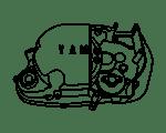 Diverse motordelen voor uw oldtimer Yamaha bromfiets