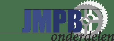 Stickerset Puch Monza M50 Zwart/Wit