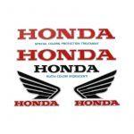 Stickerset Honda Klein 5-Delig