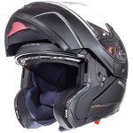 Helm Systeem MT Atom Mat Zwart