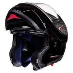 Helm Systeem MT Atom Glans Zwart