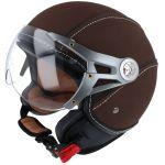 Helm Jet Soul Retro MT Bruin