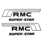 Accubakstickerset Kreidler RMC Super Star